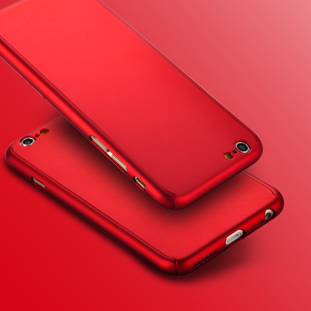 Kryt Full Defender - Clearo pro iPhone 6 a 6s detail red 4