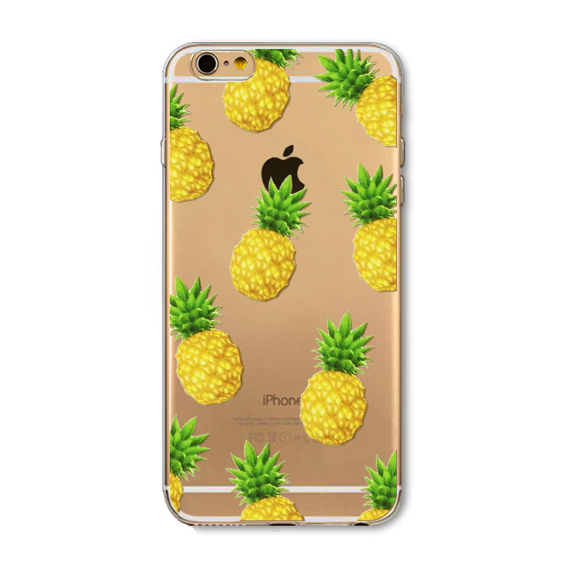 kryt clearo pineapple iphone 6 a iphone 5