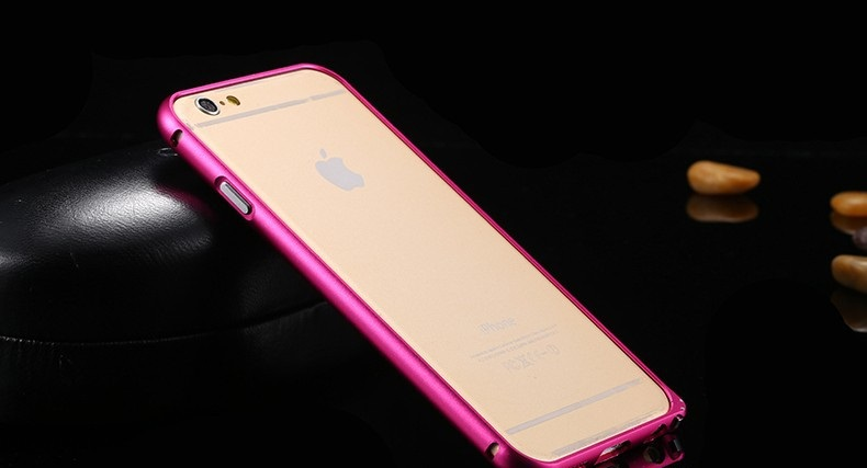 steel shield ruzovy iphone 6 bumper_1