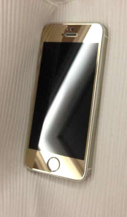 tempered glass gold ip 5 2